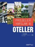 Projeler Yapılar 8: Oteller