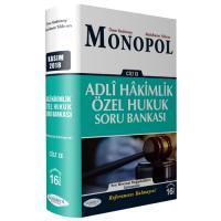 Monopol Adli Hakimlik Referans Özel Hukuk Soru Bankası Cilt 2