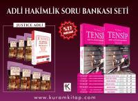 ADLİ HAKİMLİK SORU BANKASI SETİ