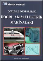 Çözümlü Örneklerle Doğru Akım Elektrik Makinaları