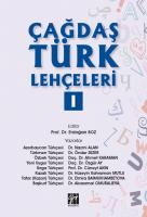 Çağdaş Türk Lehçeleri I