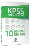 KPSS Eğitim Bilimleri 10 Deneme Çözümlü