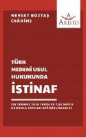 Türk Medeni Usul Hukukunda İstinaf