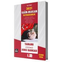 Kaim Makam Sınav Mevzuatı 2300 Çözümlü Soru Bankası