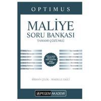KPSS A Grubu Optimus Maliye Tamamı Çözümlü Soru Bankası
