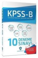 KPSS GYGK 10 Deneme Çözümlü