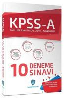 KPSS A Grubu 10 Deneme Çözümlü