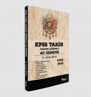 KPSS TARİH TAMAMI ÇÖZÜMLÜ 40 DENEME