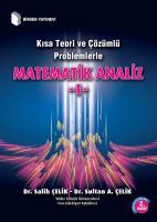 Kısa Teori ve Çözümlü Problemlerle Matematik Analiz