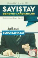 Sayıştay Denetçi Yardımcılığı Açıklamalı Soru Bankası