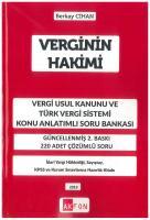 Verginin Hakimi Vergi Usul Kanunu Ve Türk Vergi Sistemi Konu Anlatımlı Soru Bankası
