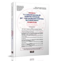 Son Nokta T.C. İçişleri Bakanlığı GYS Şef-Veri Hazırlama Kontrol İşletmeni Sınavı Çalışma Kitabı
