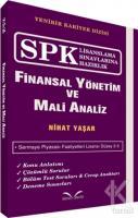 SPK Lisanslama Sınavlarına Hazırlık - Finansal Yönetim ve Mali Analiz