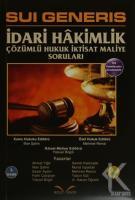 Sui Generis İdari Hakimlik (2 Kitap Takım)