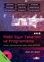 MOBİL OYUN TASARIMI VE  PROGRAMLAMA (DVD Hediyeli)