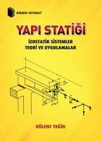 Yapı Statiği İzostatik Sistemler Teori ve Uygulamalar