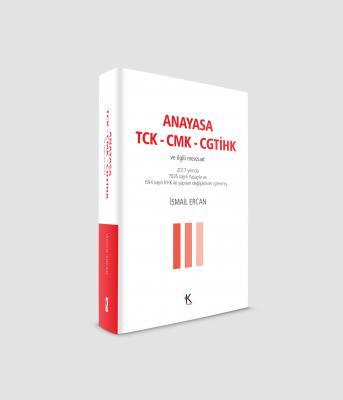 ANAYASA-TCK-CMK-CGTİHK (cep boy)