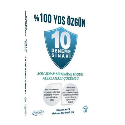 %100 YDS Özgün 10 Deneme Sınavı 2017