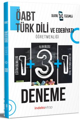ÖABT Türk Dili ve Edebiyatı 5 Deneme Dijital Çözümlü Komisyon