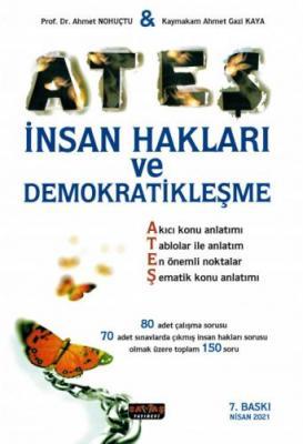 ATEŞ İnsan Hakları ve Demokratikleşme Konu Anlatımlı Ahmet Nohutçu