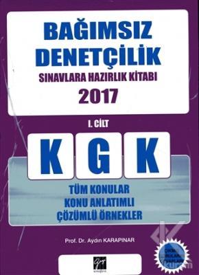 KGK Bağımsız Denetçilik Sınavlara Hazırlık Kitabı 2017