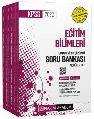 2022 KPSS Eğitim Bilimleri Tamamı Video Çözümlü Soru Bankası Modüler S