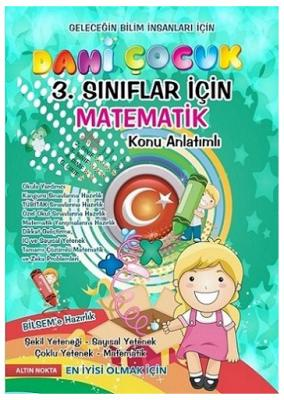 3. Sınıf Dahi Çocuk Matematik Konu Anlatım %15 indirimli Komisyon