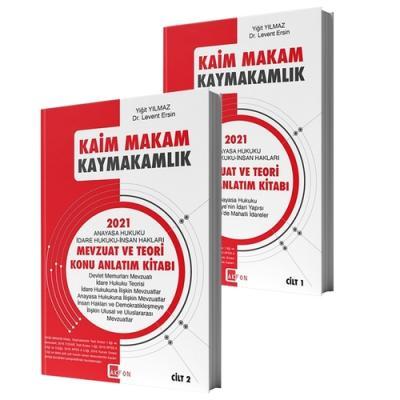 Kaim Makam Sınav Mevzuatı Konu Çalışma Kitabı Levent Ersin