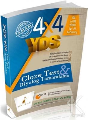 4x4 YDS Cloze Test ve Diyalog Tamamlama