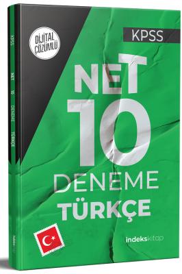 KPSS Türkçe Net 10 Deneme Dijital Çözümlü Komisyon