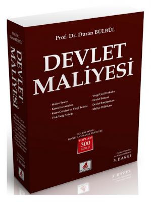 DEVLET MALİYESİ Duran Bülbül