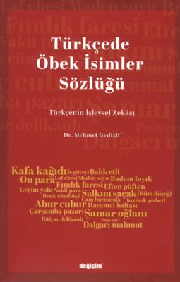 Türkçede Öbek İsimler Sözlüğü Mehmet Gedizli