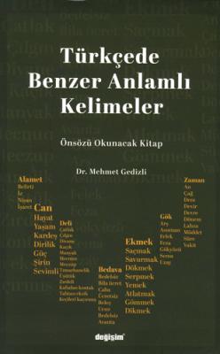 Türkçede Benzer Anlamlı Kelimeler Mehmet Gedizli