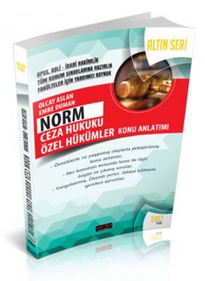 Norm Ceza Hukuku Özel Hükümler Konu Anlatımlı Altın Seri