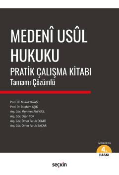 Medenî Usûl Hukuku Pratik Çalışma Kitabı Murat Yavaş