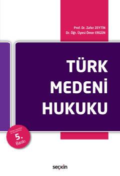 Türk Medeni Hukuku Zafer Zeytin