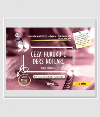 CEZA HUKUKU - I GENEL HÜKÜMLER