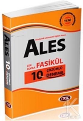 ALES 2013 Çek Kopar Fasikül - 10 Çözümlü Deneme