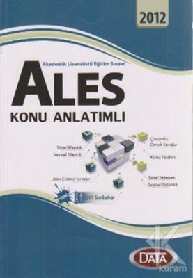 ALES Konu Anlatımlı Akademik Lisansüstü Eğitim Sınavı 2012