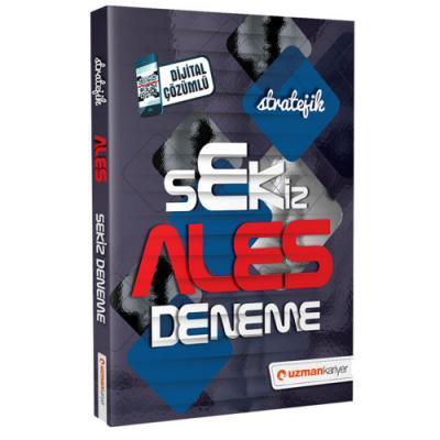 ALES Stratejik 8 Deneme Dijital Çözümlü 2019