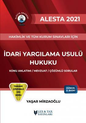 Alesta İdari Yargılama Usulü Hukuku Yaşar Mirzaoğlu