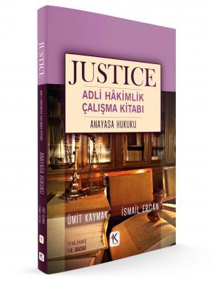 JUSTICE ADLİ HÂKİMLİK ÇALIŞMA KİTABI ANAYASA HUKUKU