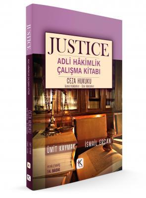 JUSTICE ADLİ HÂKİMLİK ÇALIŞMA KİTABI CEZA HUKUKU %25 indirimli Ümit Ka