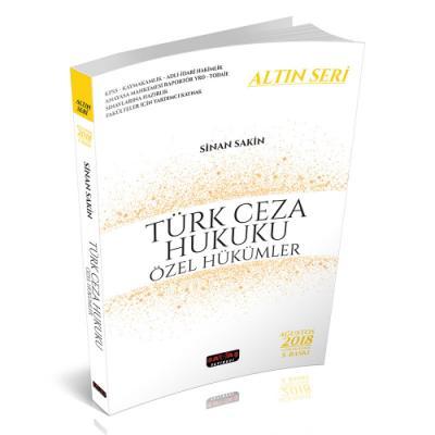 Türk Ceza Hukuku Özel Hükümler Altın Seri %22 indirimli Sinan Sakin