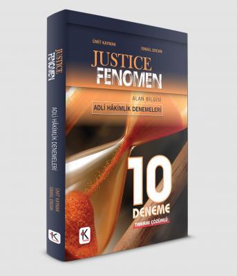 JUSTİCE FENOMEN ADLİ HAKİMLİK 10 DENEME