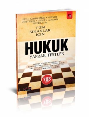 HUKUK YAPRAK TESTLER