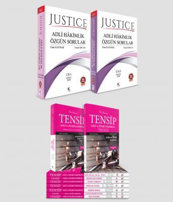 Justice Adli Hâkimlik + Tensip %25 indirimli Ümit Kaymak