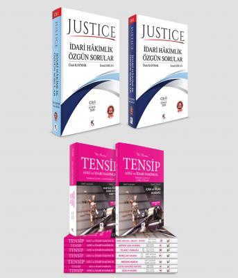 Justice İdari Hâkimlik + Tensip %25 indirimli Ümit Kaymak