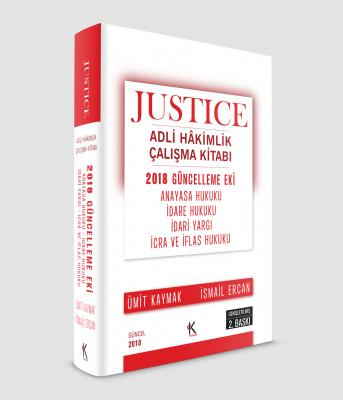 2018 JUSTICE ADLİ HAKİMLİK EK KİTABI