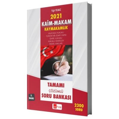 Kaim Makam Sınav Mevzuatı 2300 Çözümlü Soru Bankası Yigit Yılmaz